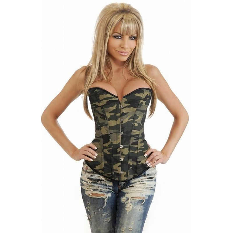 Korsett - camouflage