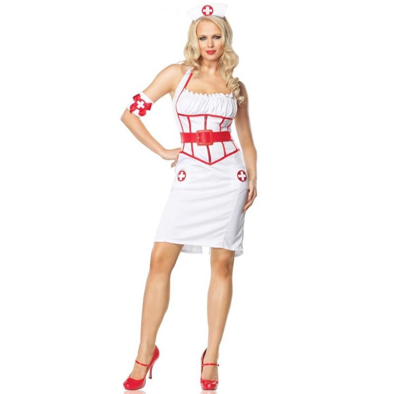 Maskeradkläder - Sexig sjuksköterska