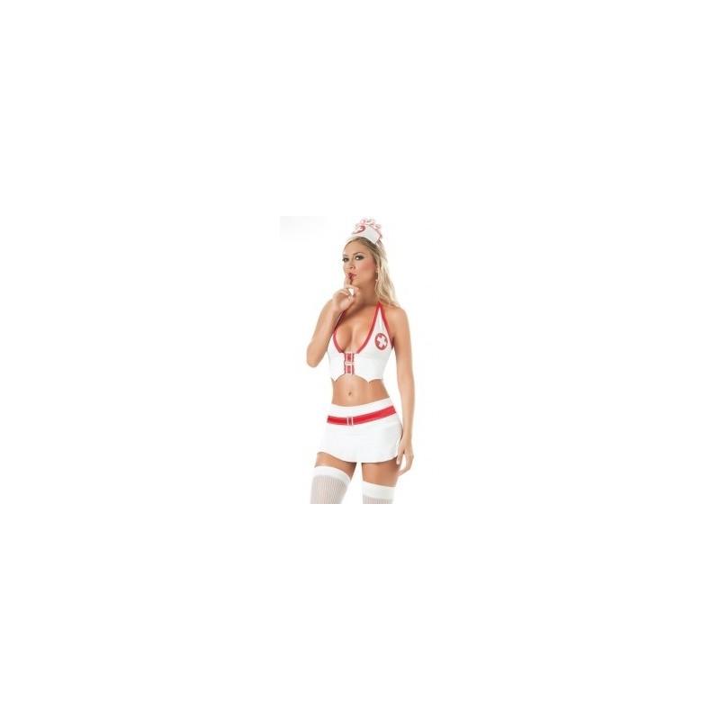 Maskeradkläder - Sjuksköterska