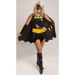 Maskeradkläder Batgirl