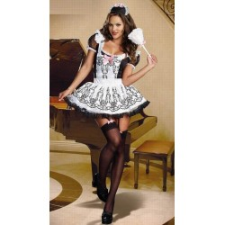 French Maid kostym