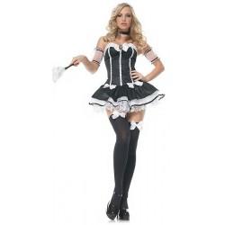 Maskeradkläder - French maid