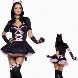 Maskeradkläder - sexig katt