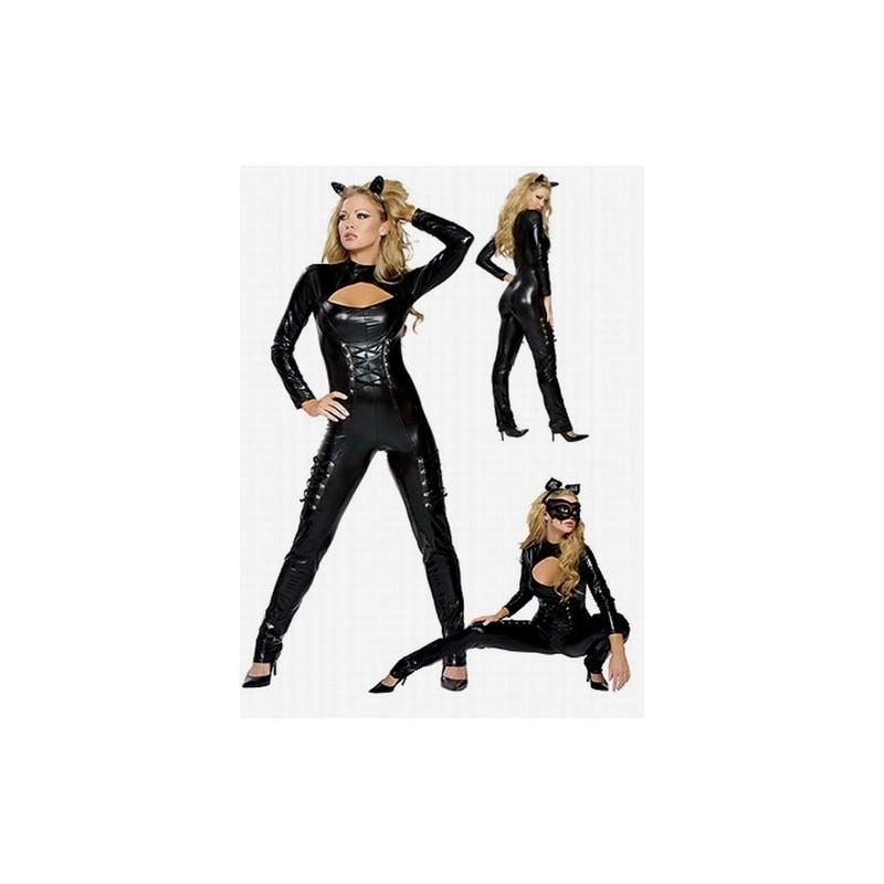 Maskeradkläder - Cat Woman