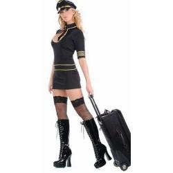 Maskeradkläder - Flygvärdinna